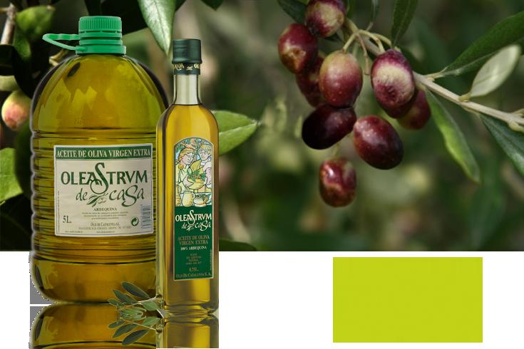 aceite de oliva virgen extra arbequina