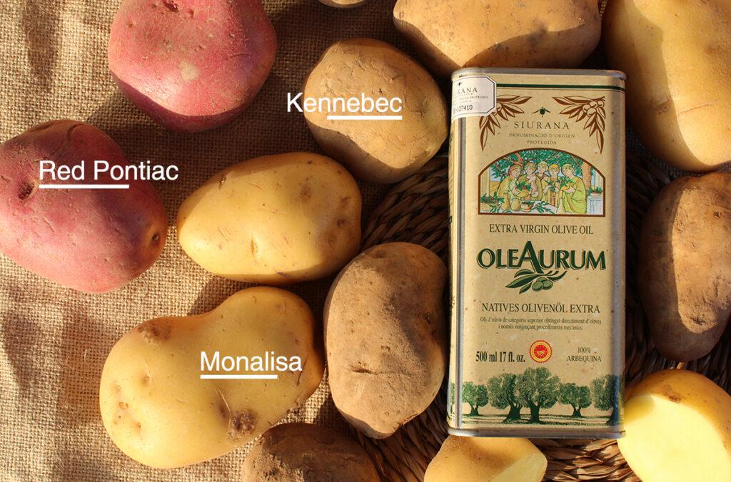 Tipos y variedades de patata